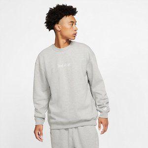 New Nike Men's JDI Heavy Fleece Crew Sweatshirt